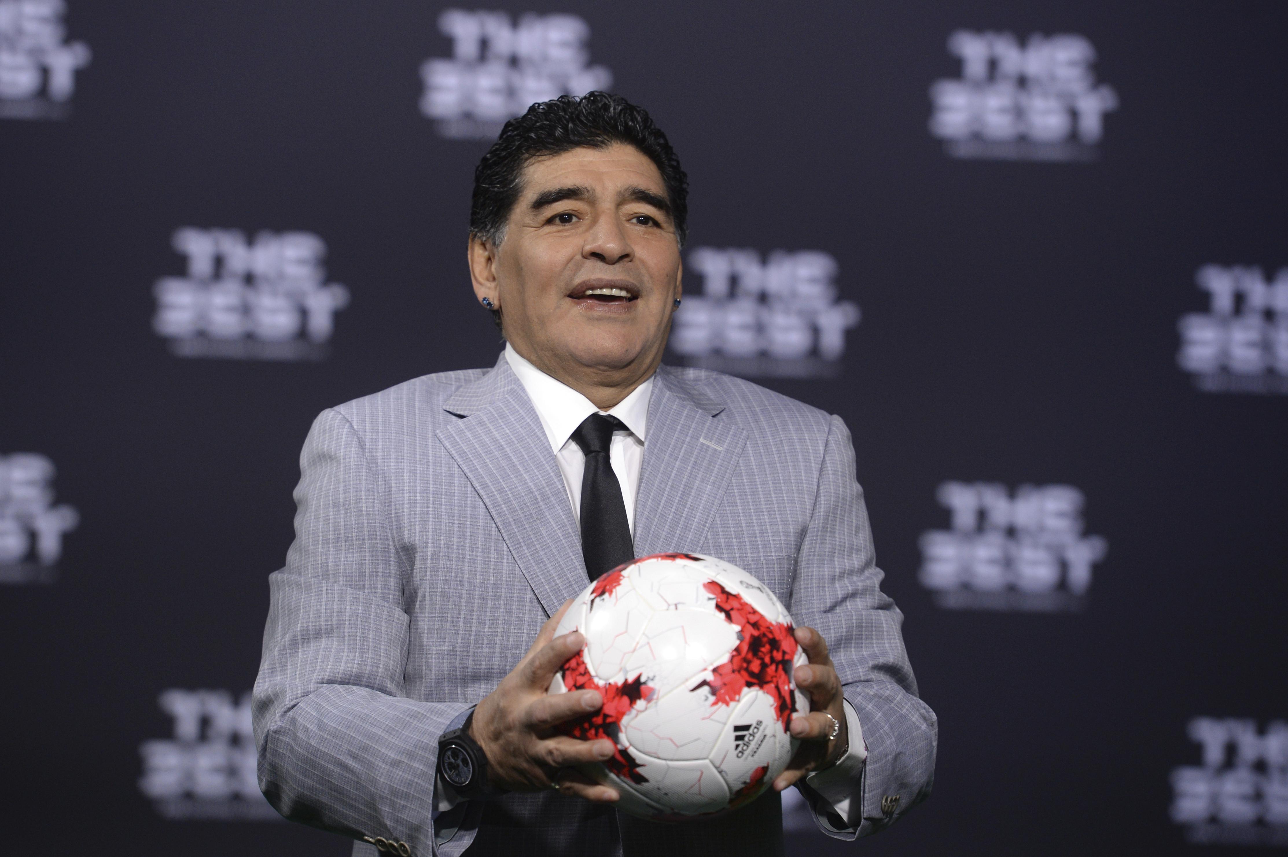 Deigo Maradona。(達志影像資料照)