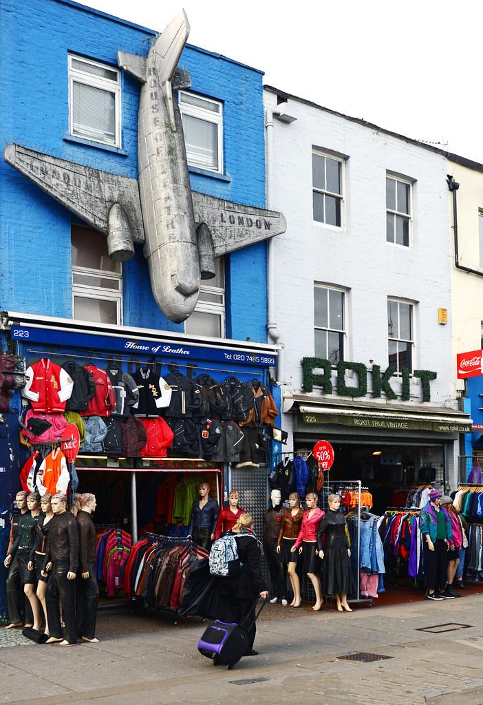 Una de las fachadas de Camden Town