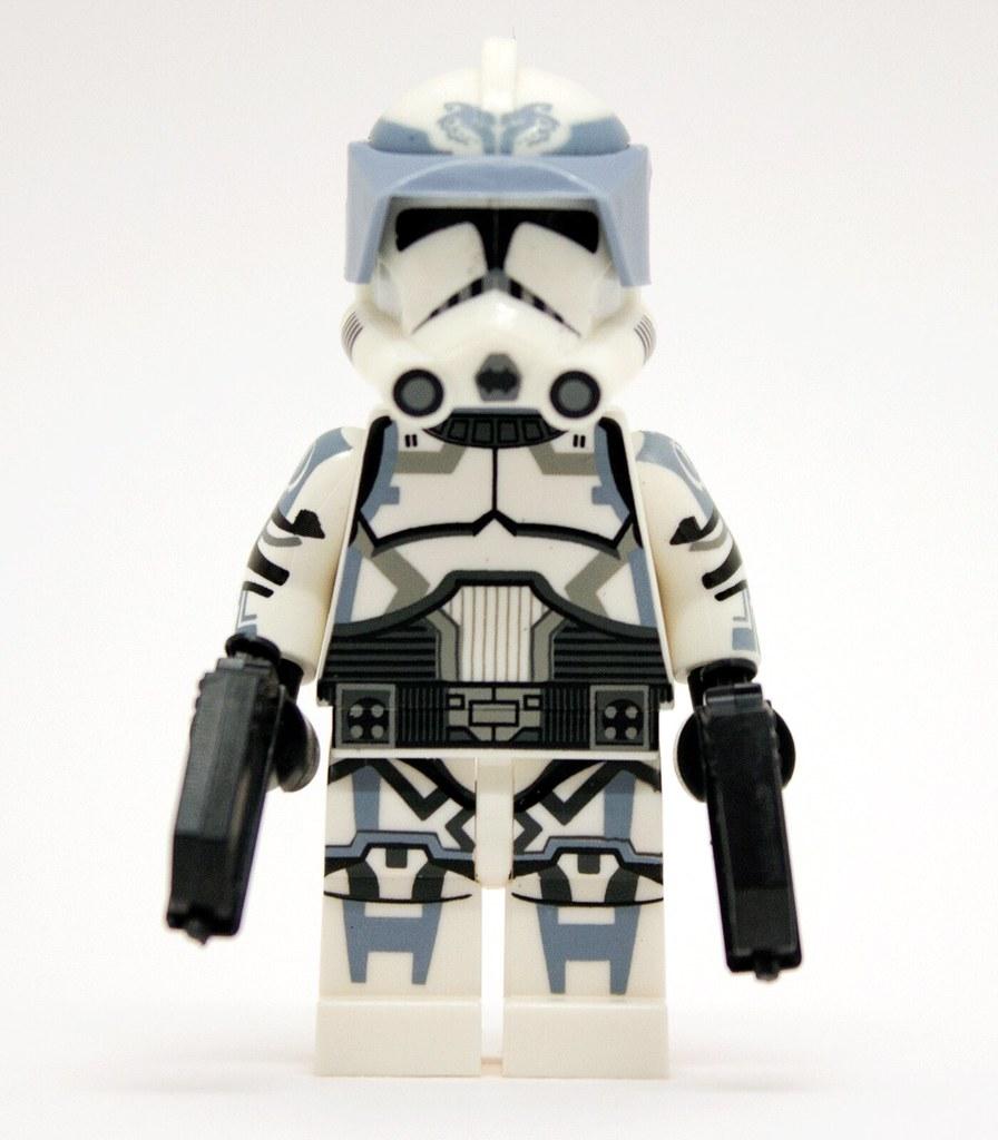 lego star wars custom clone trooper wolfpack 104th batta flickr