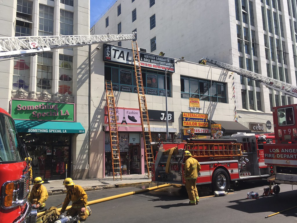 Attic Fire In Dtla Commercial Building At 1 59pm On