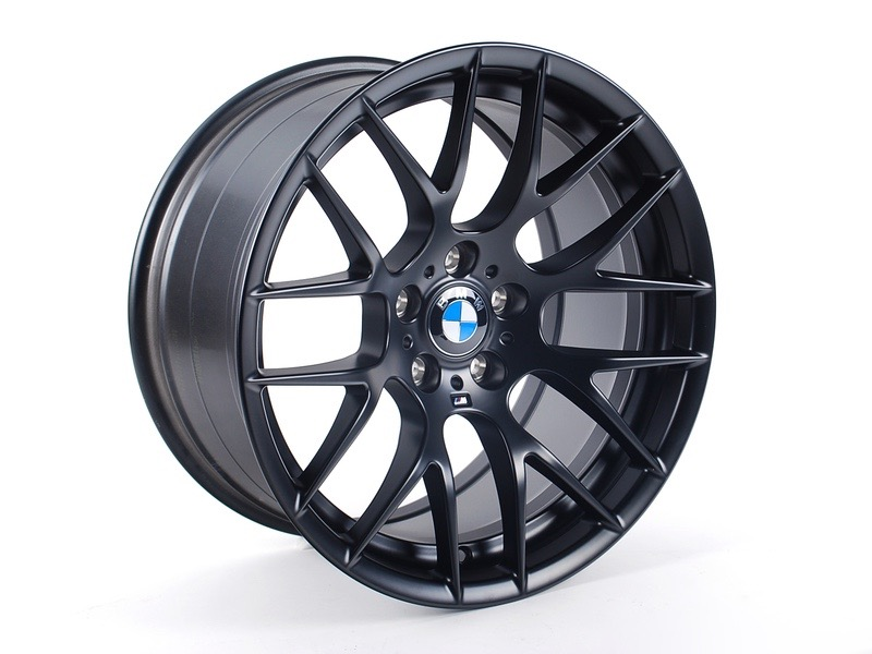 2012 BMW M3 DTM Champion Edition Black Y Spoke Wheels