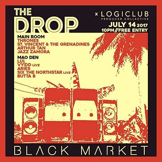 Black Market x Logic Club | by bongandres