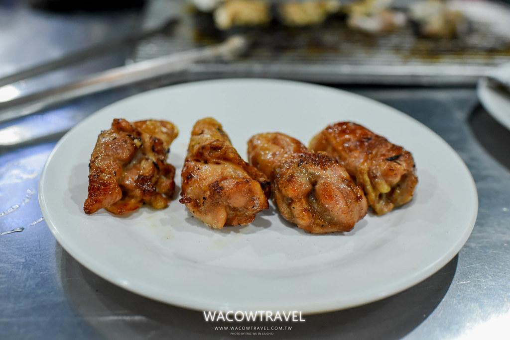 小琉球美食-筑安心燒物BBQ黃金雞肉捲