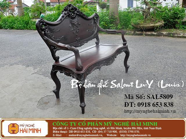SAL5809f  Bo ban ghe salont Lu Y  Louis  do go mynghehaiminh