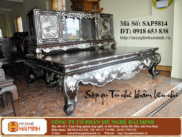 SAP5814b  Sap gu Tu che Kham Lien Chi  do go mynghehaiminh