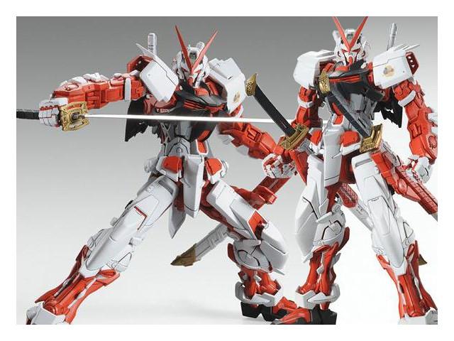 夢幻的絕版商品終於再販!MG 1/100 異端鋼彈紅色機 ガンダムアストレイ レッドフレーム