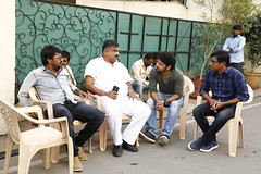 Darshakudu Movie Working Stills
