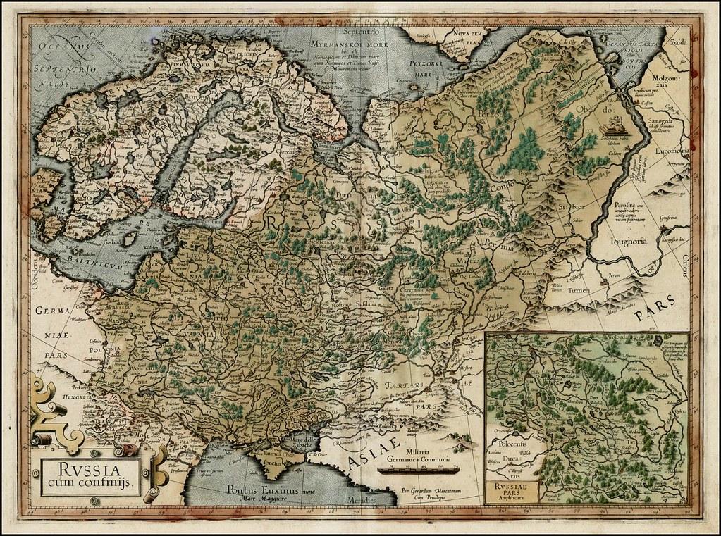 """Russia cum Confinijs"" (1595)"