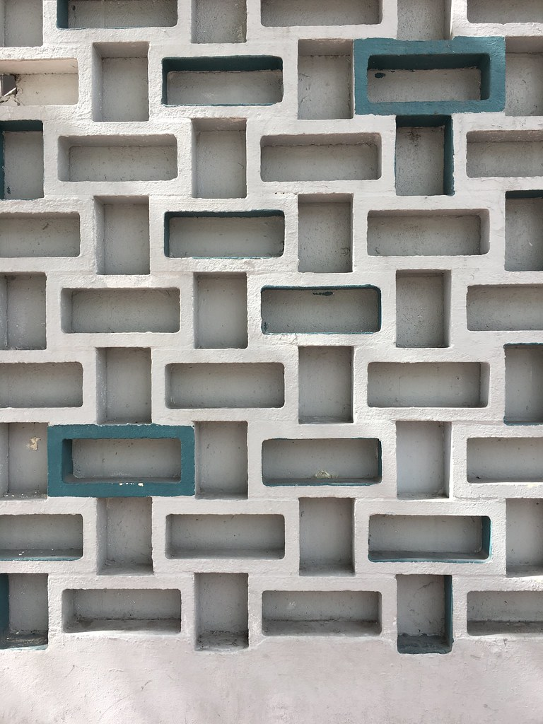 Mid-Century Perforated Concrete Wall South Beach | Phillip ...