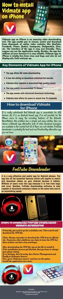 How To Install Vidmate App On IPhone? | Vidmate app on iPhon