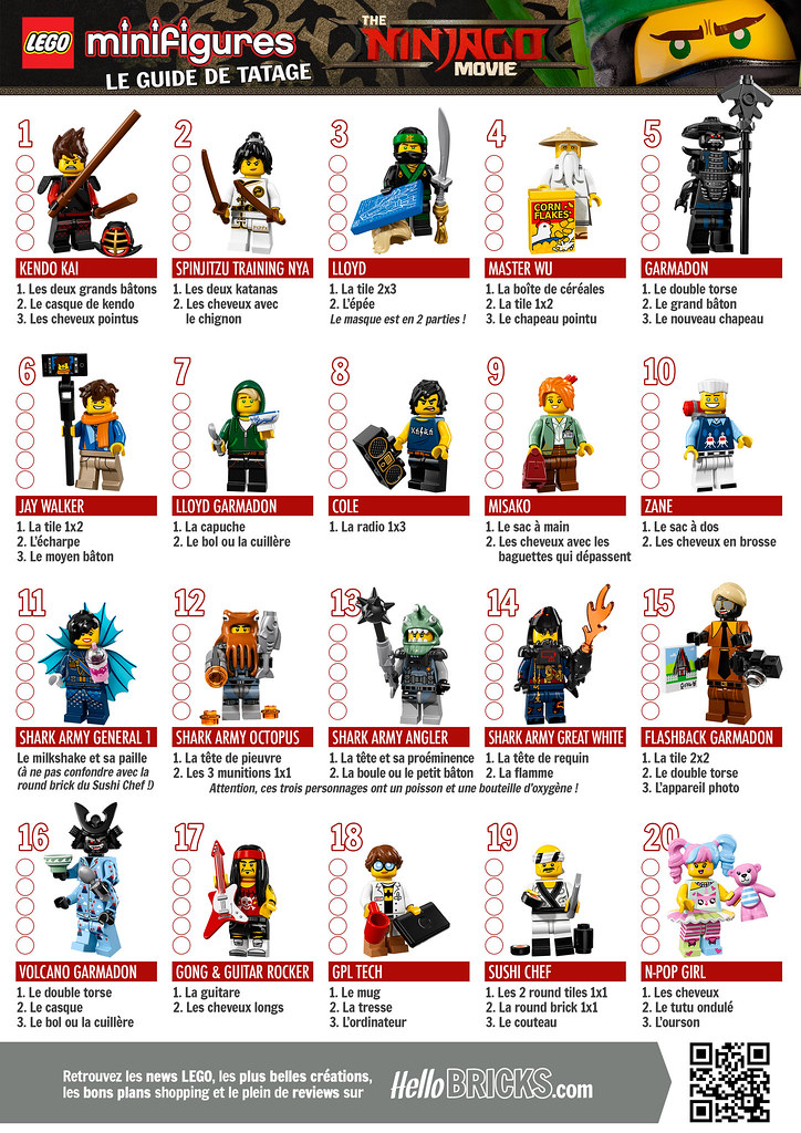 lego 71019 collectible minifigures the lego ninjago movie flickr. Black Bedroom Furniture Sets. Home Design Ideas