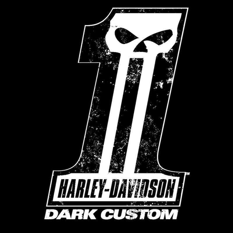Harley-Davidson Dark-Custom™ Motorcycles Line Logo