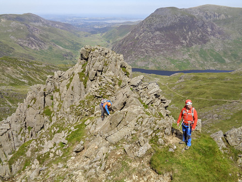 Almost on Glyder Fachs top