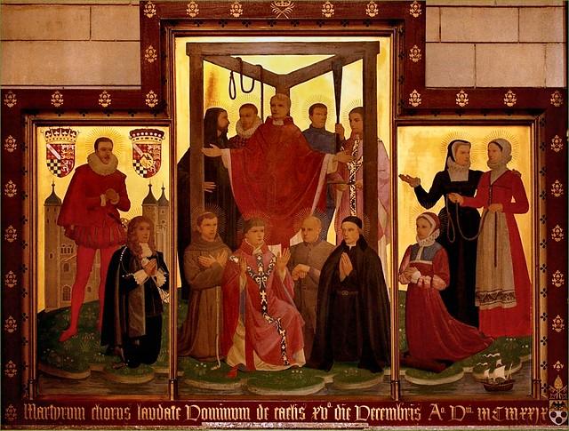 Mártires de Tyburn en Londres