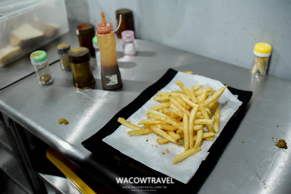 小琉球美食-筑安心燒物BBQ炸薯條