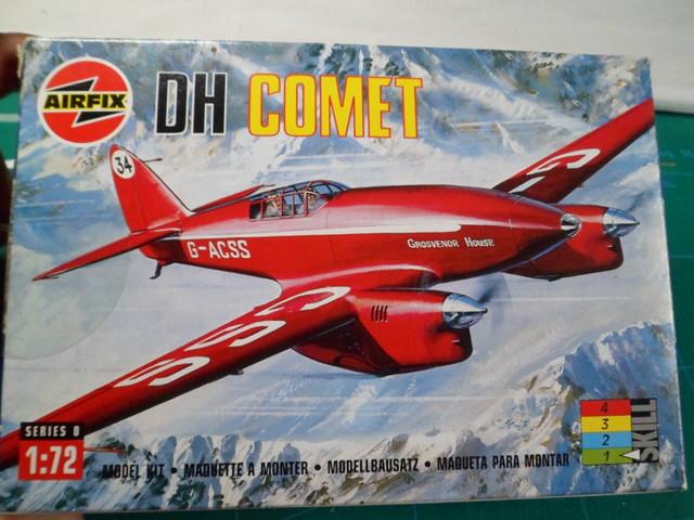 DE HAVILLAND D H88 kit Airfix 1959 35418687993_5b309280bf_z