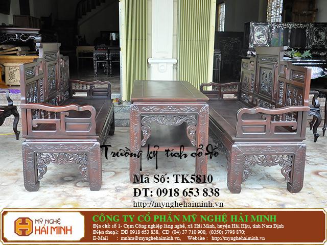 TK5810a  Bo Truong Ky tich co do  do go mynghehaiminh