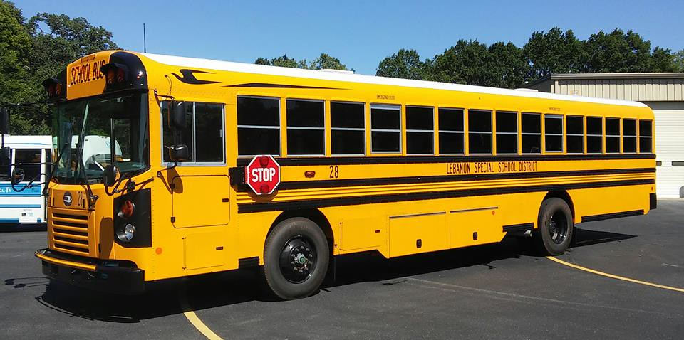 Tennessee Blue Bird Bus Lebanon Special School District
