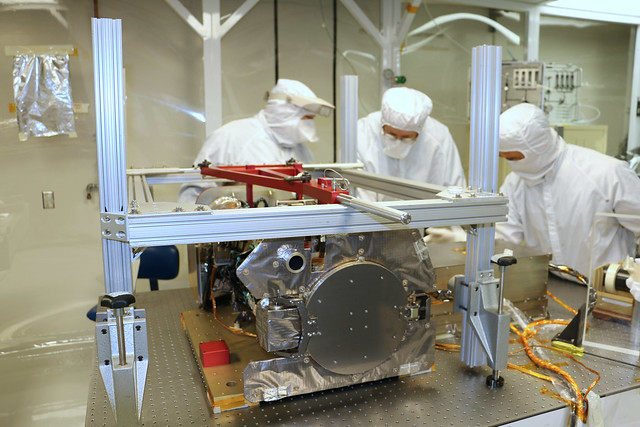 GOES-S SUVI Instrument Undergoes Testing