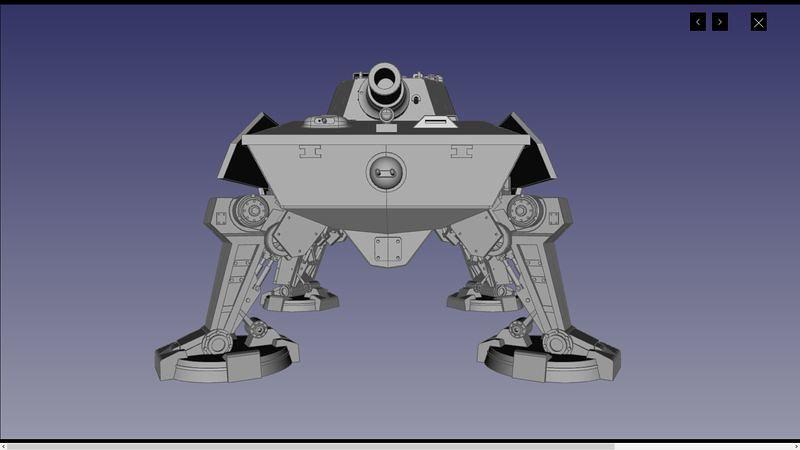 UA72107 3D 03 | par Cyber-Mecha