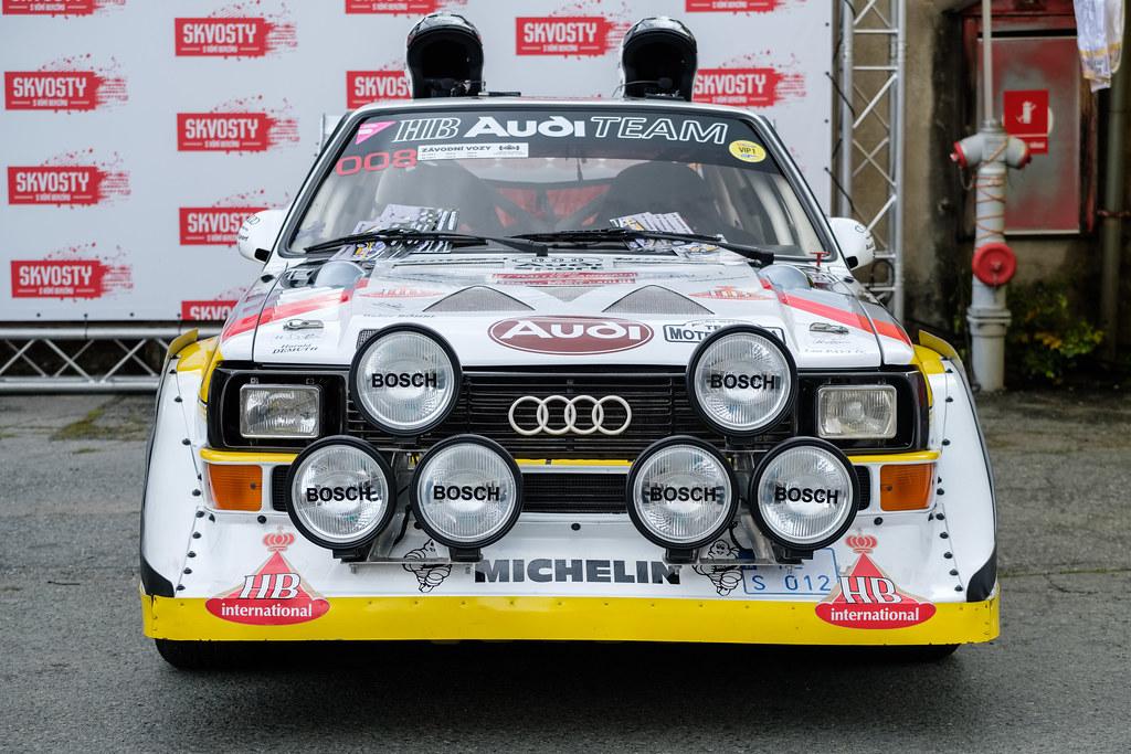 1985 Audi Sport Quattro S1 One Of The Legendary Sharp Rall Flickr