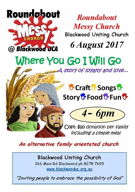 Messy Church August 2017