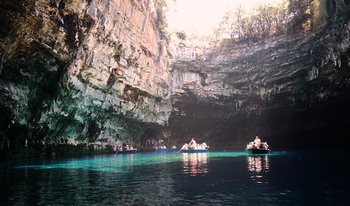 Melissani lake | by plot19