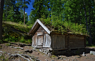 Old traditional wooden Lapland house. The island of Seurasaari, Helsinki, Finland. | by L.Lahtinen (nature photography)