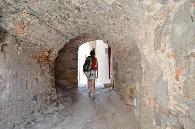 Crumbling arches, Citadel, Calvi, Corsica