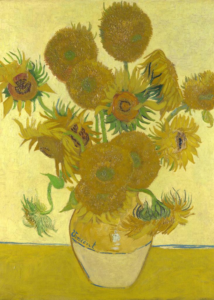 Cuadro de los girasoles de Van Gogh de Londres