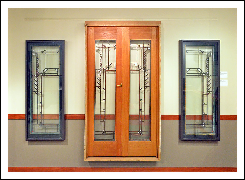 Genial ... Door And Windows Designed By Frank Lloyd Wright | By Sjb4photos