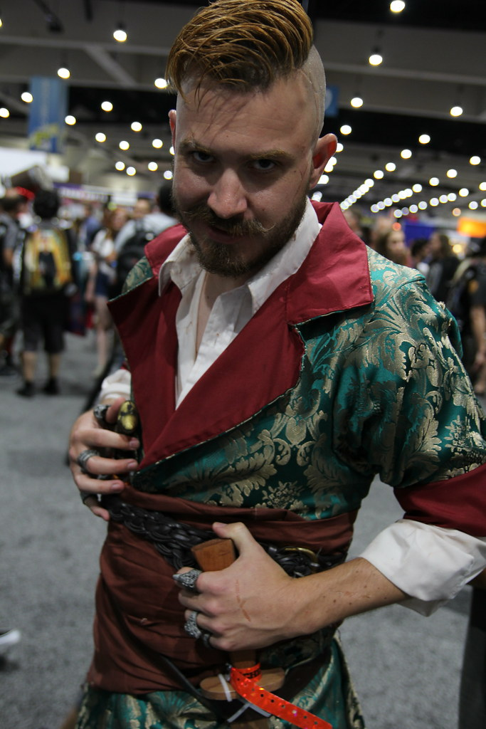 N 2017 N >> SDCC2017 - Olgierd von Everec cosplay | A cosplay of Olgierd… | Flickr