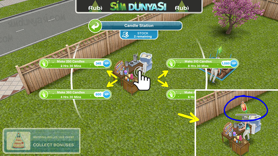 The Sims Freeplay Wedding Belles Event