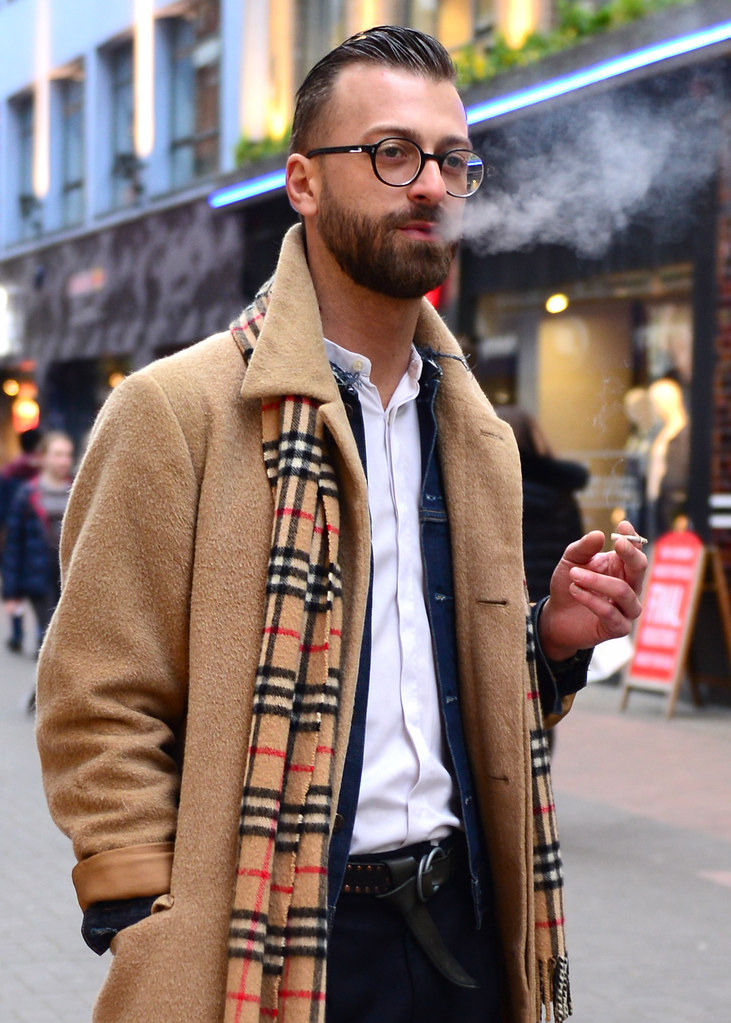Posiblemente el hipster más hipster de Carnaby Street en Londres