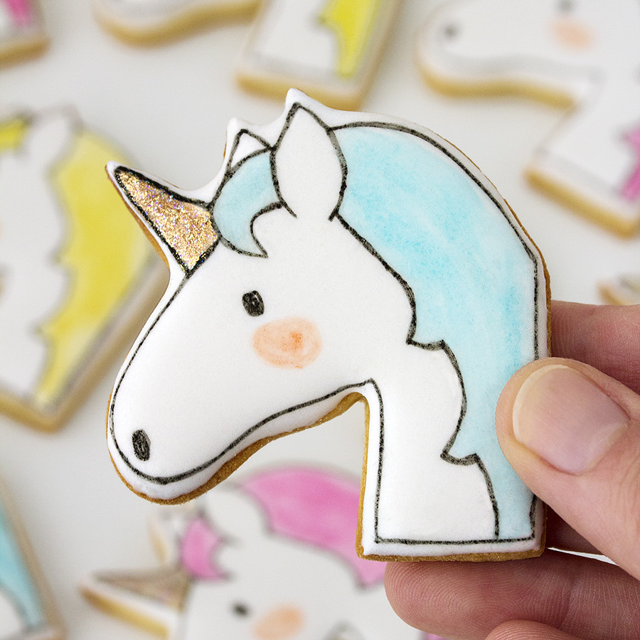 Galletas decoradas unicornios