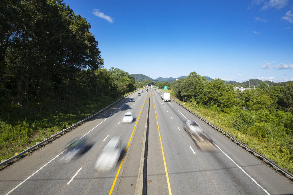 Interstate 40 | Traffic speeds by on I-40 in Canton, NC