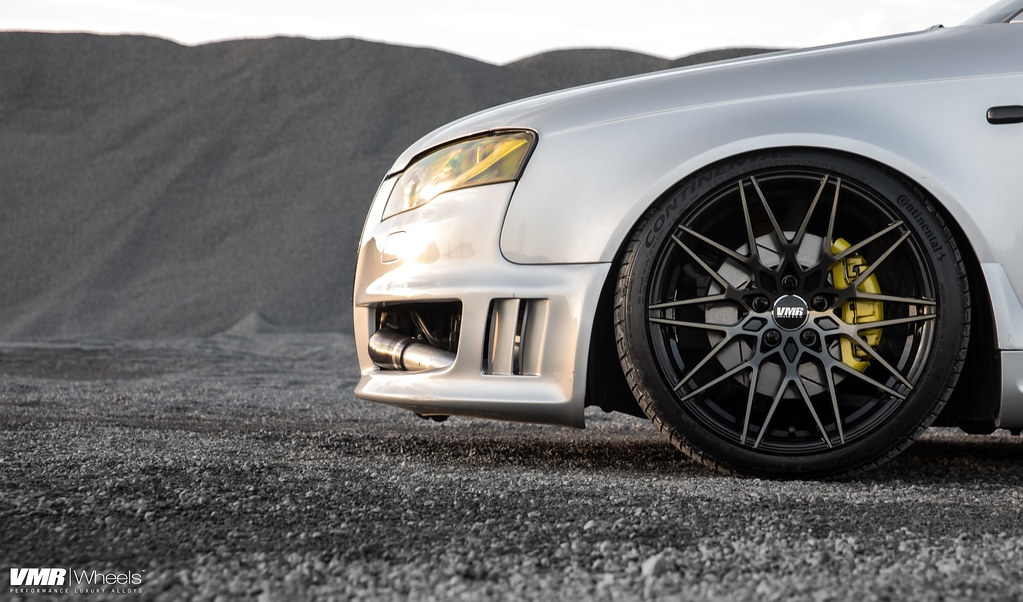 V801 Titanium Black Shadow Audi B7 A4 Silver The Vmr