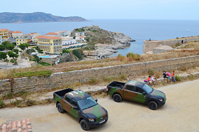 French Foreign Legion vehicles, the Citadel, Calvi, Corsica