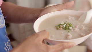 Sweet Soup • Rice Pork Porridge Congee • ข้าวต้มหมู • Songkhla • THAILAND 2 | by OXLAEY.com