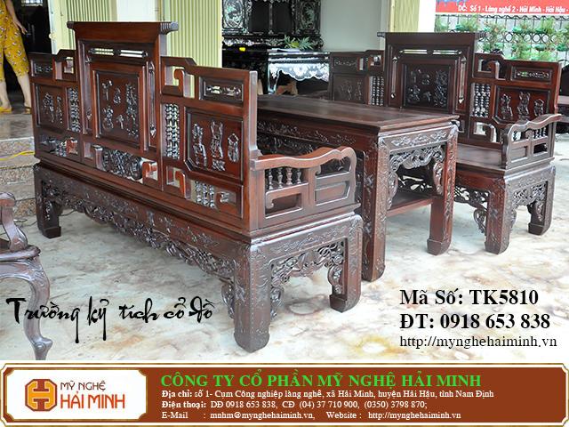 TK5810b  Bo Truong Ky tich co do  do go mynghehaiminh