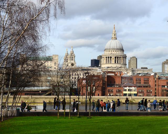 Vistas del capitolio desde el Tate Museum