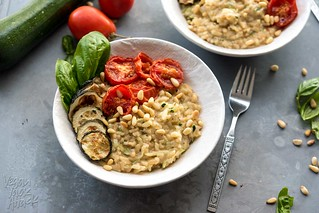 Zucchini Risotto with Roasted Tomatoes | by Yack_Attack