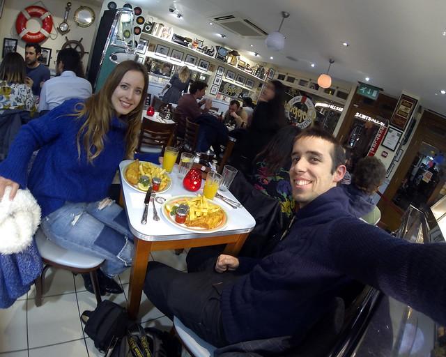 En el mejor fish and chips de Londres