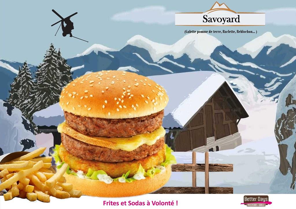 Burger Savoyard Venez D Couvrir Dans Votre Restaurant
