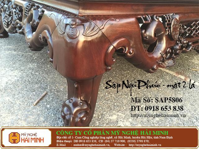 SAP5806f  Sap gu Ngu Phuc Mat 2  do go mynghehaiminh