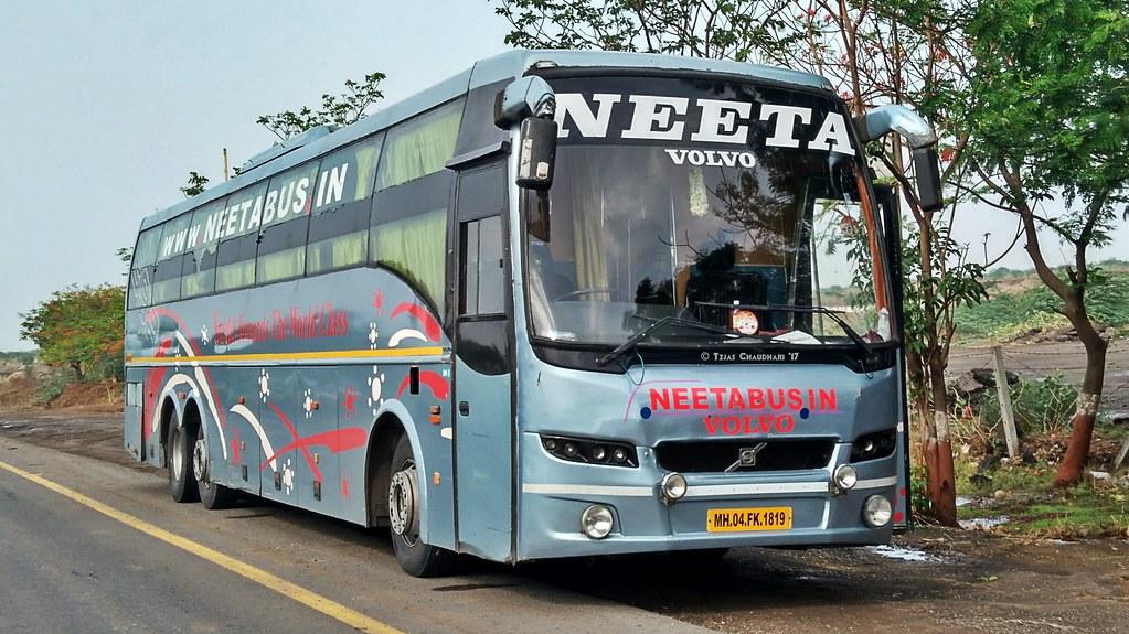 Neeta Travels Volvo B9R Multi Axle Sleeper Coach Bus | Flickr