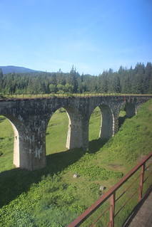 Abandoned railway bridge in the Carpathians | by Timon91