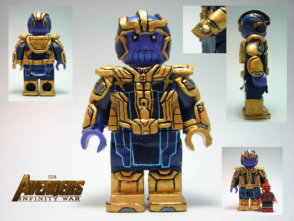 Lego Custom Avengers Infinity War Apparently Not Thanos Flickr