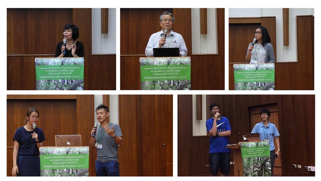 來自各國的參與者分享各區未來希望能推動的工作