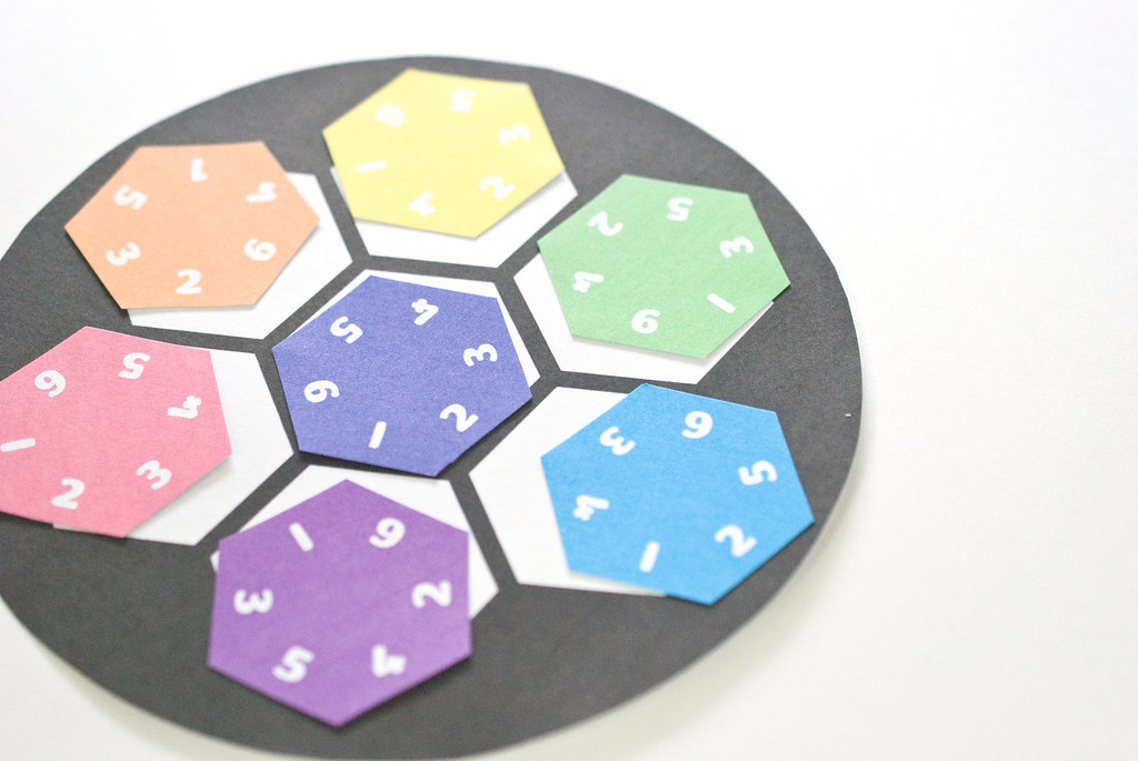 Printable Hexagon Puzzle | wildolive | Flickr